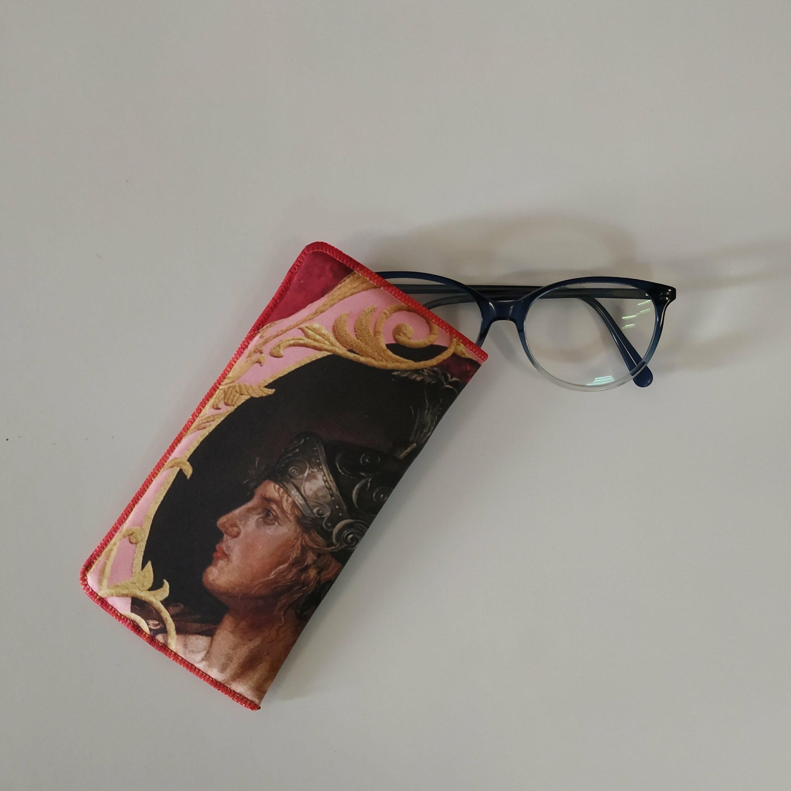 Funda de gafas blanda